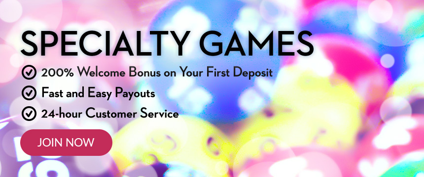 Play Specialty Games for Real Money at Slots.lv