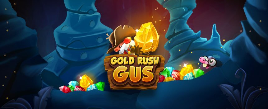 Throughout the old west, legends spoke of an old prospector whose instincts for striking gold could not be matched: Gold Rush Gus!